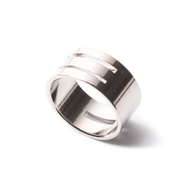 white and yellow gold filled ring size adjuster