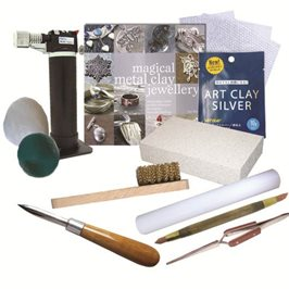 Beginners Art Clay Silver Kit - Torch Firing